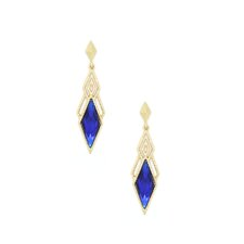 Hollywood Crystal Dagger Earrings