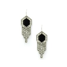 Lina Crystal Drop Earrings