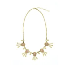 Enchanted Leaf Bib Necklace