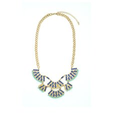 <strong>Jordan and Taylor</strong> Lily Bib Necklace