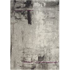 Ashbury Stroke of Abstract Grey Area Rug