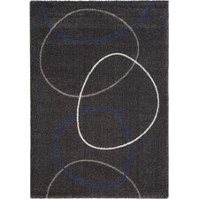 <strong>Kalora</strong> Ashbury Linked Blue / Cream Circles Rug