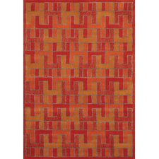 Manika Hot Orange Rug