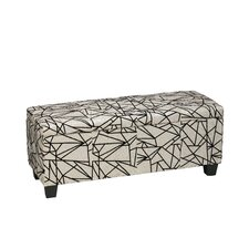 <strong>Cortesi Home</strong> Ziggy Storage Ottoman