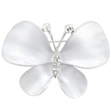 Butterfly Crystal Pin Fashion Crystal Brooch