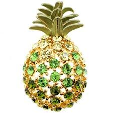 Crystal Pineapple Crystal Brooch