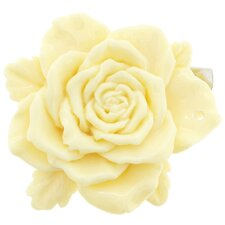 3D Camellia Flower Crystal Hair clips Flower Pendant and Pin Brooch