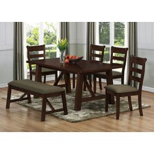 Valencia 6 Piece Dining Set