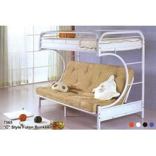 <strong>Milton Green Star</strong> Twin Futon Bunk Bed