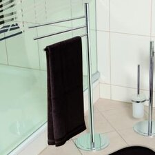 Saturn 45 cm Towel Stand in Chrome
