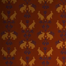 <strong>Astek Wallcovering Inc.</strong> Fire Hares Tiles Wallpaper