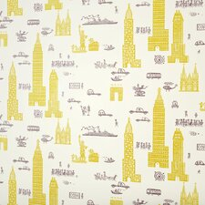 Jim Flora's Manhattan Scenic Tiles Wallpaper