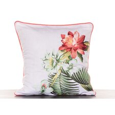 Southern Breeze Embroidered Flower Decorative Pillow