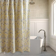 Cape Verde Cotton Shower Curtain