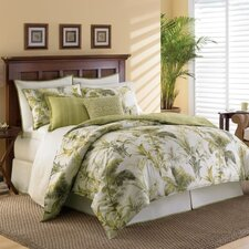 Island Botanical 3 Piece Duvet Cover Set