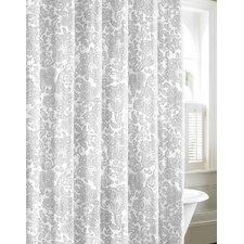 Island Memory Cotton Shower Curtain