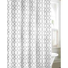 Shoretwon Trellis Cotton Shower Curtain