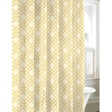 Bamboo Trellis Shower Curtain