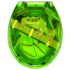 Frog Toilet Seat in Transparent