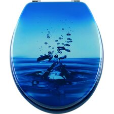 Blubb Toilet Seat in Blue