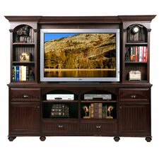"American Premiere 90"" TV Stand with Hutch"