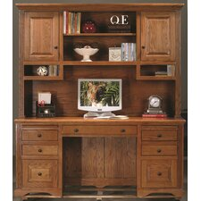 <strong>Eagle Furniture Manufacturing</strong> Oak Ridge Standard Desk Office Suite
