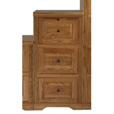 <strong>Eagle Furniture Manufacturing</strong> Oak Ridge 3 Drawer File Cabinet