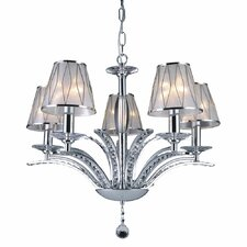 Douglas 5 Light Crystal Chandelier