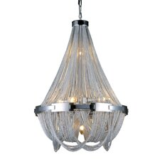 Duke 6 Light Crystal Chandelier