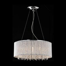 Crystalline 8 Light Crystals Chandelier