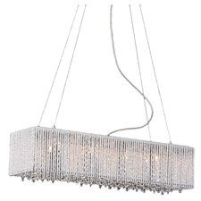 Crystalline 8 Light Crystal Chandelier