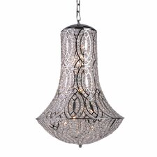 Cascade 8 Light Crystal Chandelier