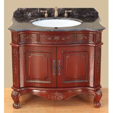 "<strong>Bosconi</strong> Classic 37"" Single Vanity Set"