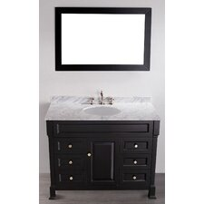 Contemporary 43'' Single Vanity Set