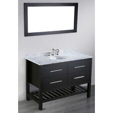 "Contemporary 47"" Single Vanity Set"