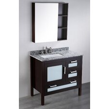 Contemporary 37'' Single Vanity Set