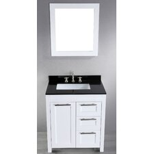 Contemporary 30'' Single Vanity Set