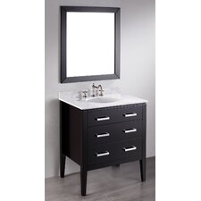 <strong>Bosconi</strong> Contemporary 31'' Single Vanity Set