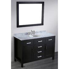 Contemporary 49'' Single Vanity Set
