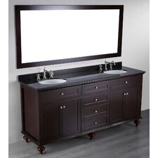 <strong>Bosconi</strong> Contemporary 73'' Double Vanity Set