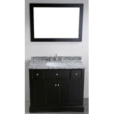 <strong>Bosconi</strong> Contemporary 39'' Single Vanity Set