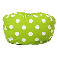 <strong>Comfort Research</strong> Polka Dot Bean Bag Chair