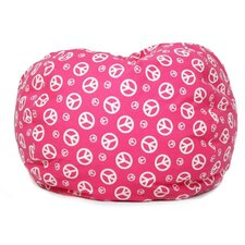 Peace Sign Bean Bag Chair