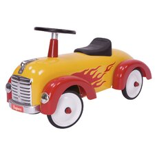 Speedster Flamme Push/Scoot Car