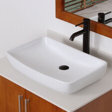 Grade A Ceramic Finsbury Shaped Bowl Vessel Bathroom Sink