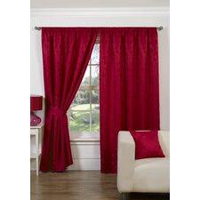 Trieste Curtain Set and Tieback (Set of 2)
