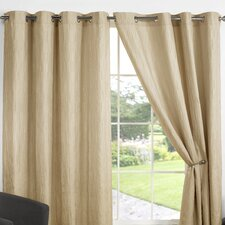 Provence Lined Eyelet Curtains (Set of 2)