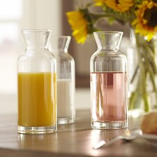 Personal Glass Carafe (Set of 3)