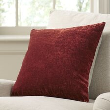 Rochelle Pillow Cover, Brick