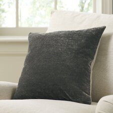 Rochelle Pillow Cover, Pewter